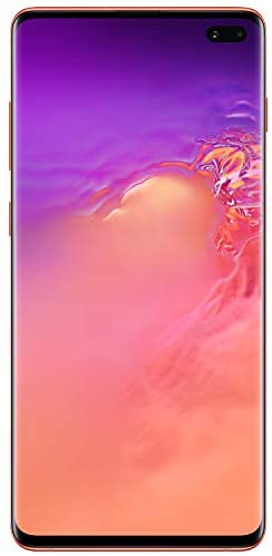 Samsung Galaxy S10+Factory Unlocked Android Cell Phone   US Version   128GB of Storage   Fingerprint ID and Facial Recognition   Long-Lasting Battery   Flamingo Pink