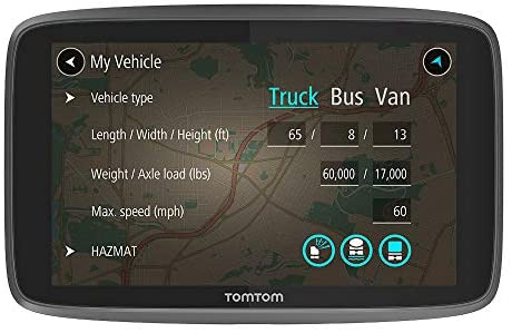 TomTom Trucker 520 5-Inch Gps Navigation Device For Trucks with Wi-Fi Connectivity, Smartphone Services, Real Time Traffic And Maps of North America