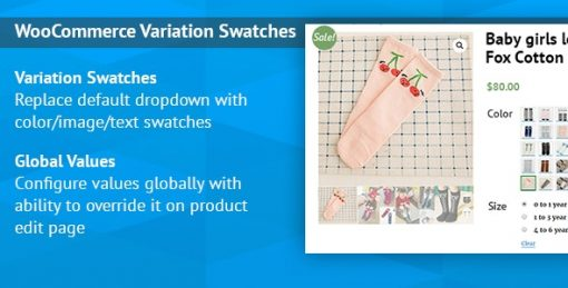 WooCommerce Variation Swatches Images