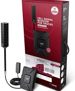 weBoost Drive 4G-X OTR (470210) Truck Cell Phone Signal Booster | U.S. Company | All Networks & Carriers - Verizon, AT&T, T-Mobile, Sprint & More | FCC Approved