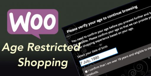 Woocommerce Age Restricted Shopping