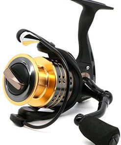 ANGRYFISH 8+1BB Collapsible Spinning Fishing Reel with 5.2:1 Gear Ratio Anti-Reverse Right/Left Handle Fishing Reel for Saltwater or Freshwater