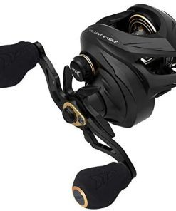 KastKing Valiant Eagle Baitcasting Reel, Fishing Reel, Swing Wing Side Cover, 7 +1 Shielded Stainless Steel Ball Bearings, Brass Gears, Magnetic Brakes, Palm Perfect Design